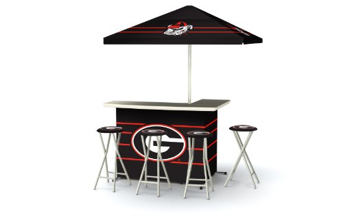 Best of Times Collegiate Patio Bar and Tailgating Center Deluxe Package- Georgia