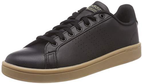 adidas Herren Cloudfoam Advantage Clean Gymnastikschuhe, Schwarz (Core Black/Core Black/Trace Cargo), 45 1/3 EU