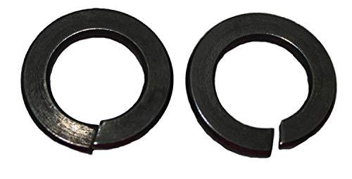 Schwarze Federringe DIN 127 Edelstahl VA2 M3, M4, M5, M6, M8, M10, M12 (25, M8)