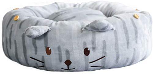 Kitty Supplies Teddy Slaapmat Baby slaapzak, Uitneembare Warme Winter, JSSFQK Geel Grijs (Kleur: Grijs)