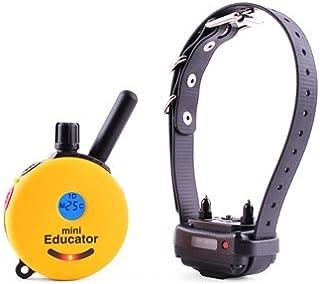 طوق تدريب صغير للكلاب بجهاز تحكم عن بعد 1.27 متر + طوق مطاطي إلكتروني متضمن مجانًا
