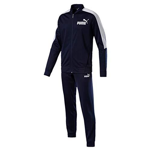 PUMA Baseball Tricot Suit Cl, Tuta Sportiva Uomo, Blu (Peacoat), L