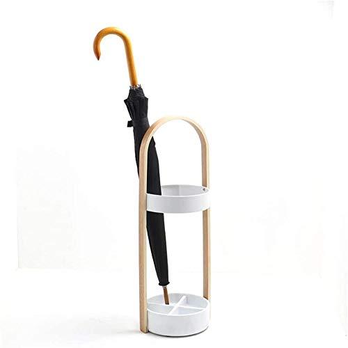 Soporte para paraguas soporte de madera, para el hogar, soporte para paraguas, creativo, para decoración de hotel, banco de paraguas, 8*68 cm, color negro
