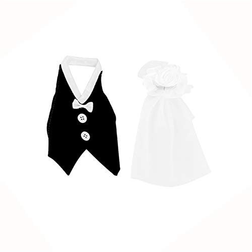MNSYD Cubiertas para botellas de vino de novia y novio para decorar botellas de vino para bodas