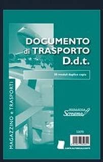 148 x 228 20 BLOCCHI Documento di Trasporto D.D.T A5 50//50 fogli modello S3070 formato