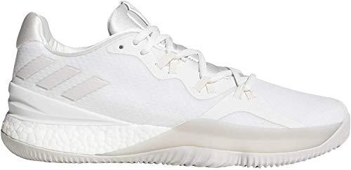 adidas Herren Crazy Light Boost 2018 Basketballschuhe, Weiß (Balcri/Pertiz/Ftwbla 000), 50 EU