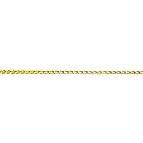 MAG - ketting van 18-karaats goud, 60 cm lang, 4 mm breed