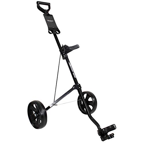 Masters 1 Series Junior Cart Golftrolley, schwarz