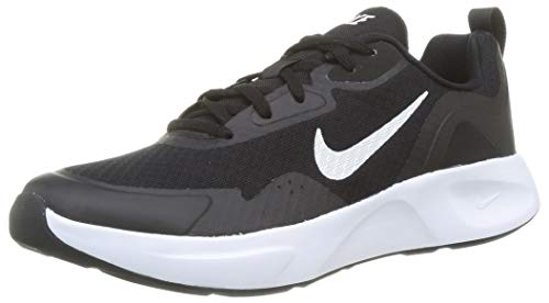 Nike Herren Wearallday Sneaker, Black/White, 43 EU