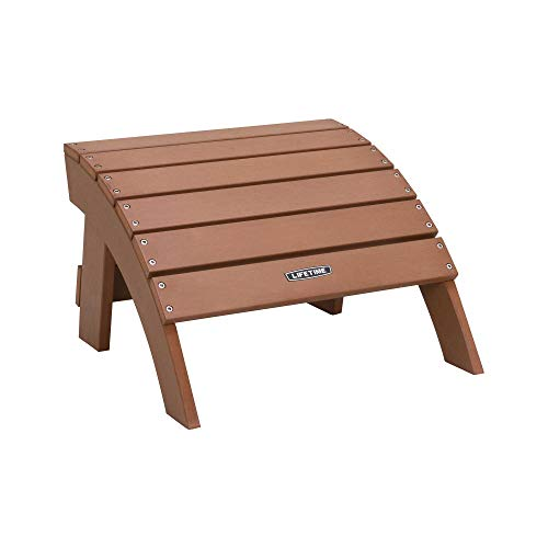Lifetime 60245 Adirondack Ottoman, Brown