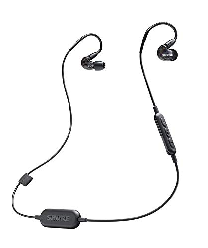 Oferta de Shure SE215-K-BT1-EFS - Auriculares inalámbricos, color Negro
