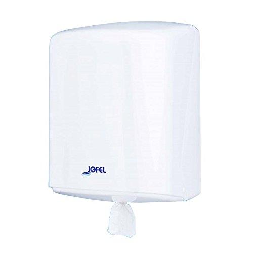 Jofel AG42000 Azur Dispensador de Papel, Mecha, con Mecanismo de Precorte,