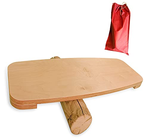 Balance Board Tabla Equilibrio Madera Surf Fitness
