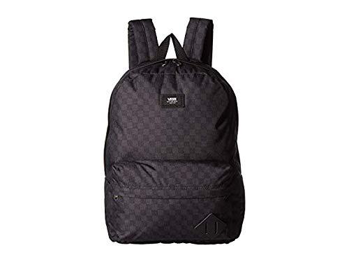 VANS/バンズ ヴァンズ OLD SKOOL 3 BACKPACK BLACK/CHARCOAL チェッカー 鞄 リュック バックパック [並行輸入品]