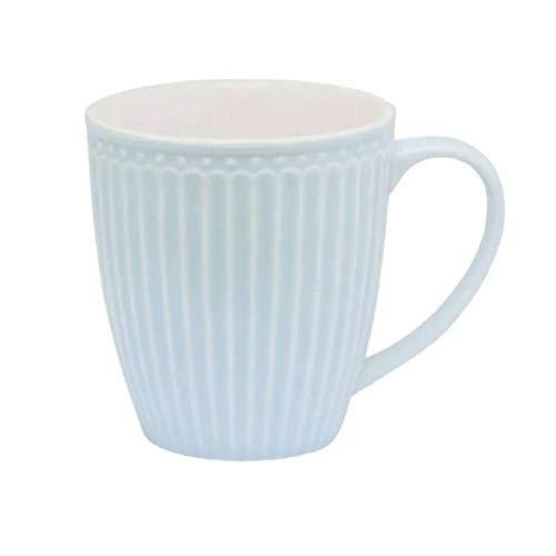 GreenGate - Tasse - Mug - Henkelbecher - Alice - Pale Blue - Porzellan