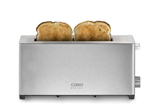 Caso Classico T 2 – Tostapane di design per 2 fette tostapane in acciaio inox