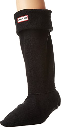 Hunter Boot Sock - Calcetines de botas para mujer negro Medium