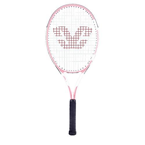Mikelabo - Raqueta de tenis para césped, color rosa