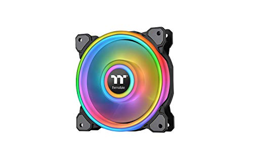 Thermaltake Riing Quad 12 RGB Radiator Fan TT Premium Edition 3 Pack