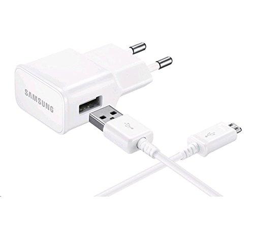 Samsung Ladegerät Micro-USB für Samsung Galaxy Geräte, weiß