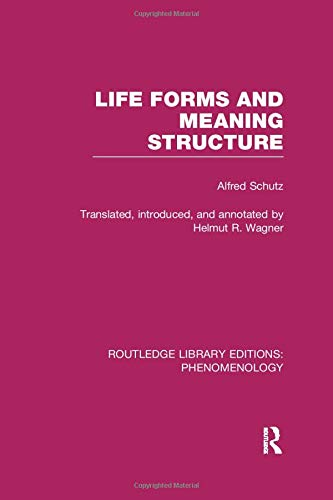 Life Forms and Meaning Structure (Routledge Library Editions: Phenomenology)の詳細を見る