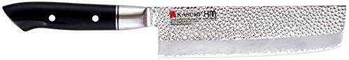 Due Cigni K-74017 Kasumi Japanse Professionele Nakiri Paring Mes, 17 cm, roestvrij staal, zwart