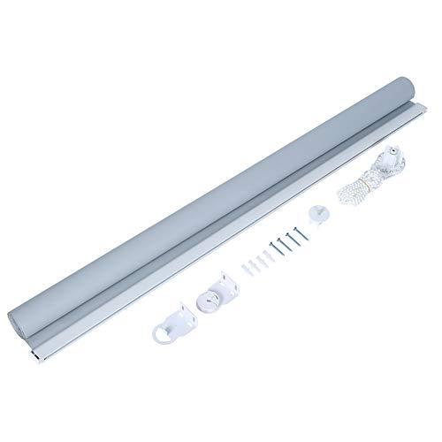 Jaloezieën gordijnen, jaloezieën voor ramen waterdichte rolluiken, warmte-isolerende UV-bescherming Blackout, 90 * 160 cm