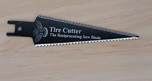 Tire Cutter Dual Edge Sawzall Blade