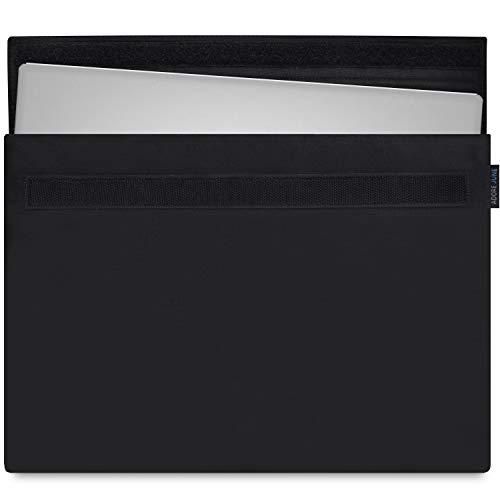Adore June 13,3 Zoll Classic Hülle kompatibel mit Dell XPS 13 2019 2018 2017, Laptop-Tasche aus beständigem Stoff, Schwarz