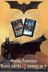 Carte Mundi Batman Begins Happy Families Riesen-Karten