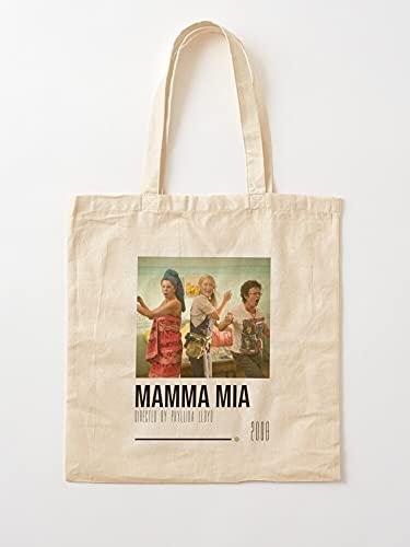 Genérico Musical Movie Mia and Mamma 00S The Sophie Movies Dynamos Donna Meryl Streep   Bolsas de la compra con asas, de algodón duradero