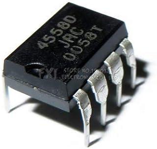 20 ピース NJM4558D DIP8 NJM4558 DIP JRC4558D JRC4558 デュアルオペアンプ新オリジナル