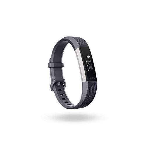 Fitbit Alta HR Pulsera de Ritmo cardiaco y Fitness, Unisex Adulto, Gris, S