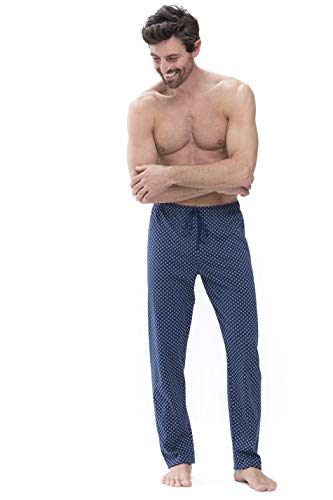 Mey Night Basic Lounge Herren Homewear Hosen Blau M