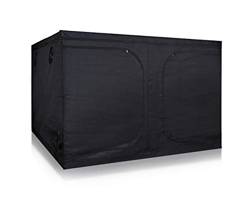 Hydro Plus 8'x8' Grow Tent Room Indoor Plants Growing Reflective Mylar Dark Room Non Toxic Hut for Growing System(96''x96''x78'' Tent)