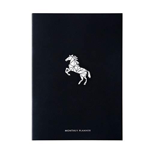 Mjd Muur Planners 2020 Jaar Paard Agenda A4 Dagboek Wekelijkse Maandelijkse Schedule Journal Notebook Muur Planners