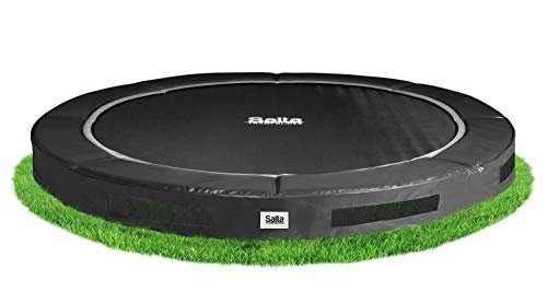 Salta Excellent Ground Trampolin - rund - Ø251cm - Schwarz
