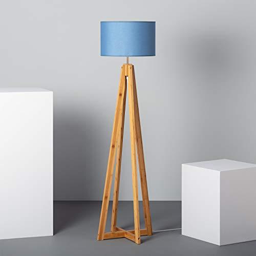 LEDKIA LIGHTING Lampada da Terra Korsade Azzurro