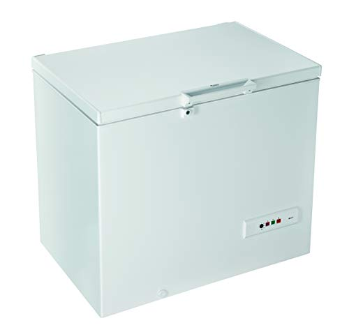 Hotpoint CS1A 250 H, Congelatore a pozzetto, A+, 252L, Bianco