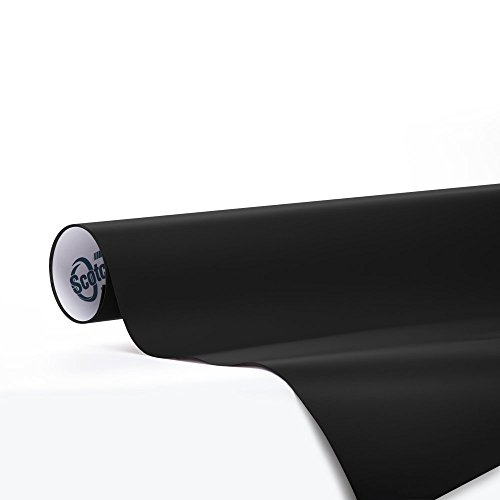 Car Wrap Vinyl Film 3M 1080 M22 Matte DEEP Black 3in x 5in Sample Size