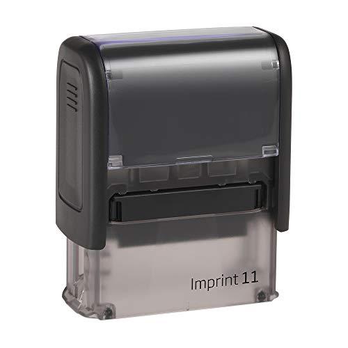 Stempel Dormy Imprint 11 custom (37x14 mm - 4 Zeilen) mit individueller Textplatte