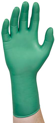 Microflex 93-260 Nitrile and Neoprene Gloves - Disposable, Chemical Resistant , Size Medium (pack of 50)