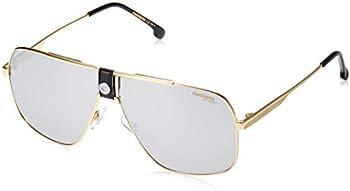 Carrera 1018/S 0RHL-T4 Gold Black Square Sunglasses