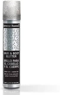 Temporary Spray (Silver Glitter)