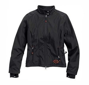 Harley-Davidson Womens Heated Soft Shell w/Battery Riding Jacket. 98560-15VW (Large)