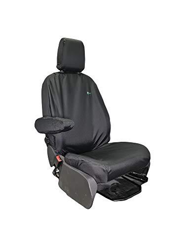 Town & Country Funda de asiento delantero resistente impermeable para Ford Transit Custom y Ford