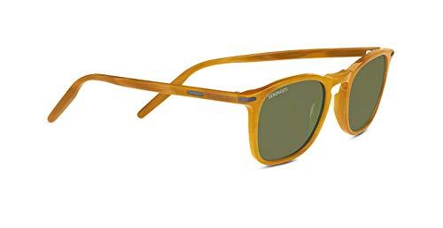 Serengeti Unisex-Adult Delio Sunglasses, Shiny Honey, Medium
