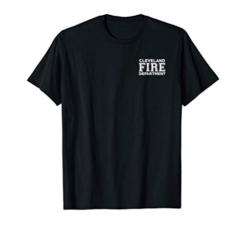 City of Cleveland Fire Rescue Ohio Firefighter Duty T-Shirt