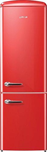 GORENJE ork192rd autonome 322L A + + rot Kühlschränken–réfrigérateurs-congélateurs (autonome, rot, rechts, LED, 322l, 326L)