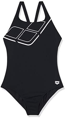 ARENA Bañador 1P Essentials Swim Pro Back Traje De Baño, Mujer, Black/White, 44